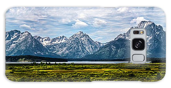 Tetons - Panorama Galaxy Case