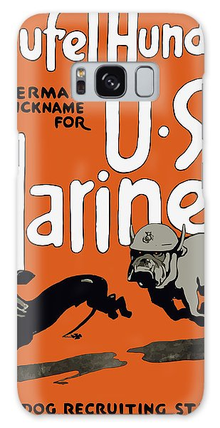 Americana Galaxy Case - Teufel Hunden - German Nickname For Us Marines by War Is Hell Store