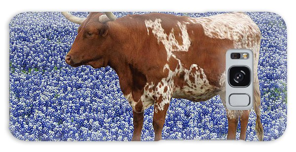 Da227 Tex And The Bluebonnets Daniel Adams Galaxy Case