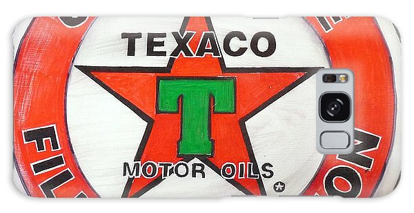 Texaco Sign Galaxy Case