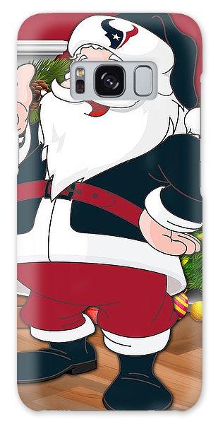 Santa Claus Galaxy Case - Texans Santa Claus by Joe Hamilton