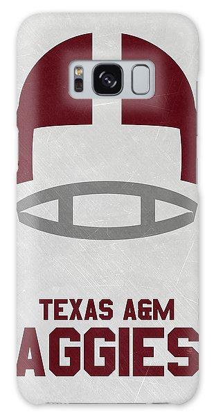March Galaxy Case - Texas A M Aggies Vintage Football Art by Joe Hamilton