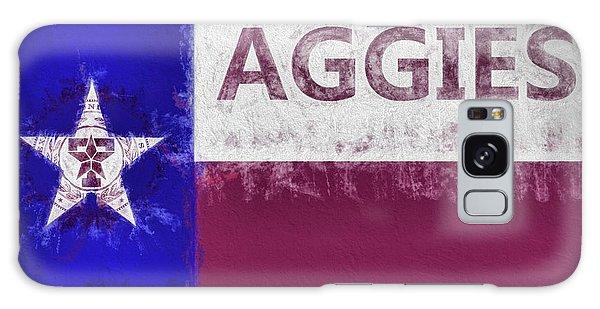 Texas Aggies State Flag Galaxy Case