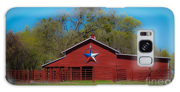 Texas Barn Galaxy Case by John Roberts