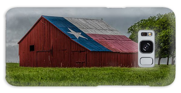 Texas Barn Panorama Galaxy Case