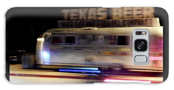 Texas Beer Fast Motorcycle #5594 Galaxy Case by Barbara Tristan