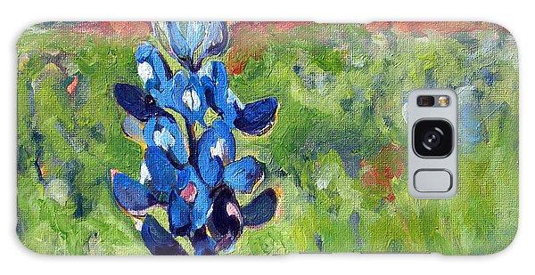 Texas Blue Bonnet Galaxy Case