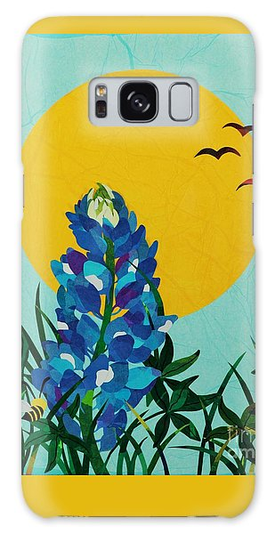 Texas Bluebonnet Galaxy Case