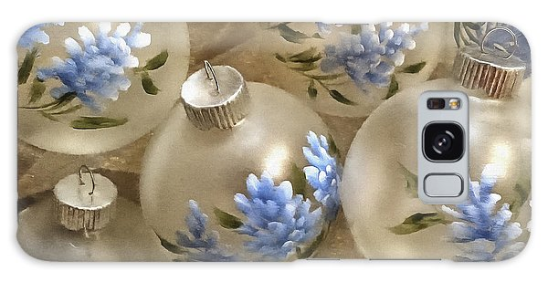 Texas Bluebonnet Ornaments Galaxy Case