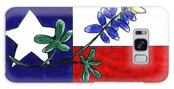 Texas Bluebonnet Galaxy Case by Vonda Lawson-Rosa