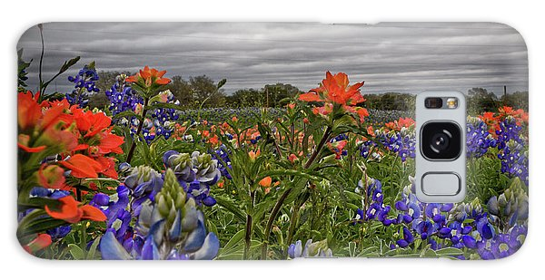Texas Bluebonnets Galaxy Case by Jill Smith