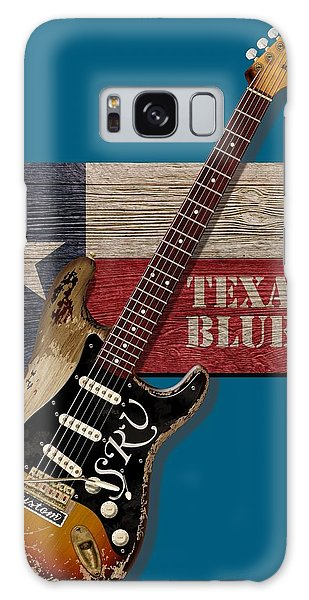 Texas Blues Shirt Galaxy Case