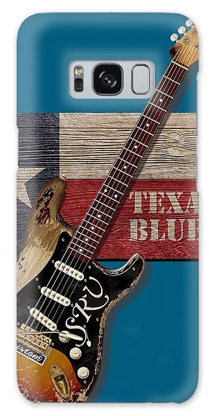 Texas Blues Shirt Galaxy Case by WB Johnston