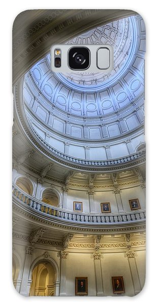 Texas Capitol Dome Interior Galaxy Case