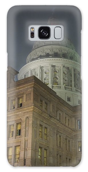 Texas Capitol In Fog Galaxy Case