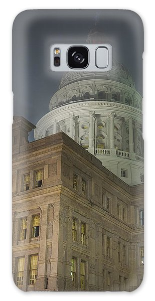 Texas Capitol In Fog Galaxy Case