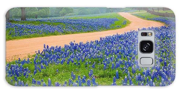 Texas Country Road Galaxy Case