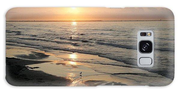 Texas Gulf Coast At Sunrise Galaxy Case