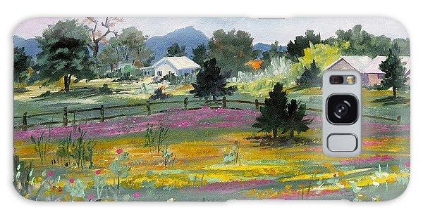 Texas Hillcountry Flowers Galaxy Case