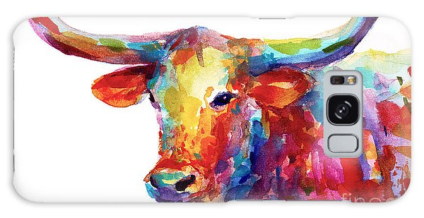 Texas Longhorn Art Galaxy Case