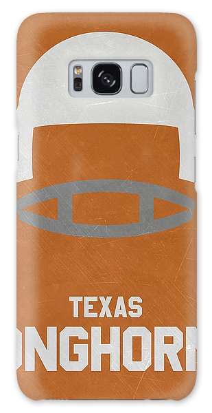 March Galaxy Case - Texas Longhorns Vintage Football Art by Joe Hamilton