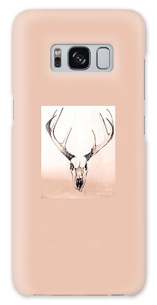 Texas Mount Deer Galaxy Case