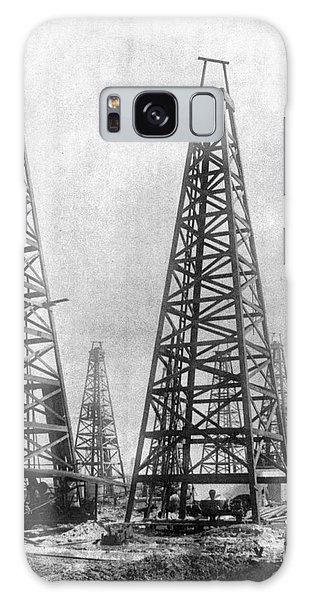 Texas: Oil Derricks, C1901 Galaxy Case