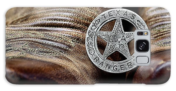 Texas Rangers And Lucchese Boots Galaxy Case
