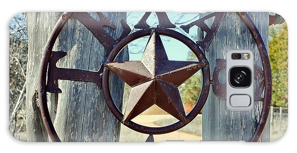 Texas Star Rustic Iron Sign Galaxy Case