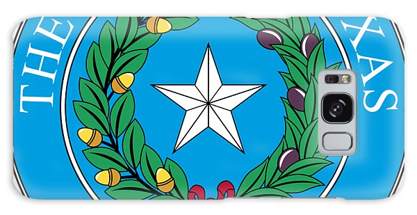 Olive Branch Galaxy Case - Texas State Seal by Movie Poster Prints