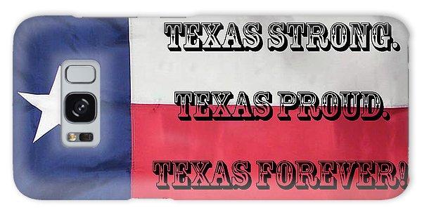 Texas Strong Galaxy Case