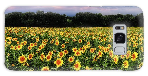Texas Sunflowers Galaxy Case