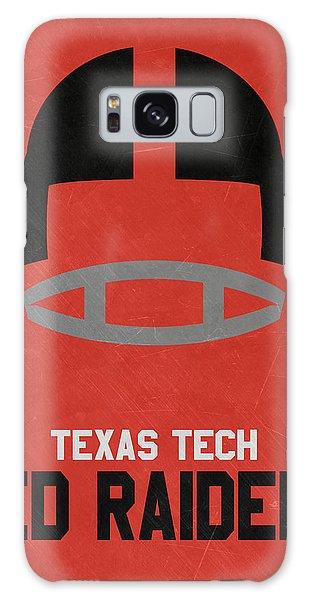 March Galaxy Case - Texas Tech Red Raiders Vintage Football Art by Joe Hamilton