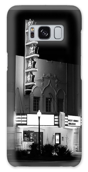 Texas Theater Oak Cliff Bw Galaxy Case
