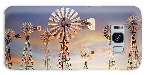 Texas Windmills Galaxy Case
