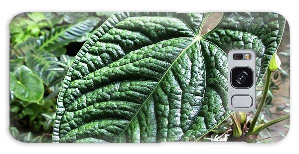 Texture Of A Leaf Galaxy Case