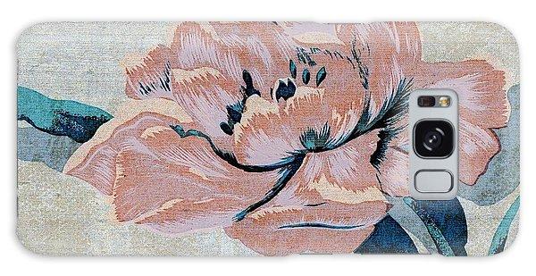 Textured Floral No.2 Galaxy Case