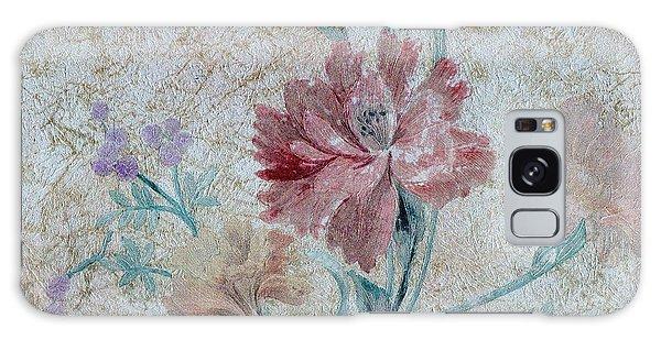 Textured Florals No.1 Galaxy Case