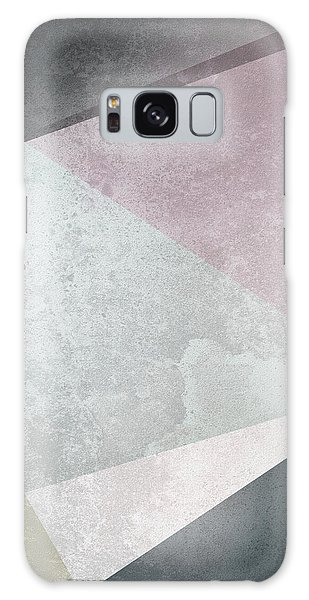 Old Galaxy Case - Textured Geometric Triangles by Pati Photography