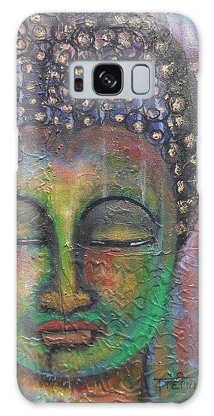 Textured Green Buddha Galaxy Case