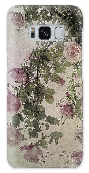 Textured Roses Galaxy Case