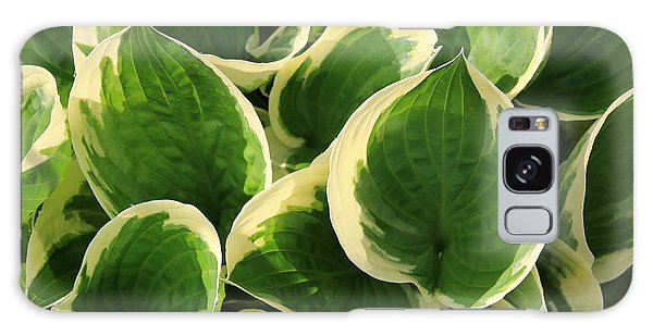Textures In Leaves Galaxy Case by Marilyn Carlyle Greiner