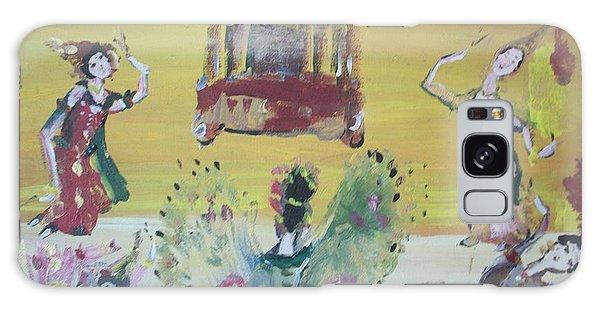 Thai Butterfly Dance Galaxy Case by Judith Desrosiers