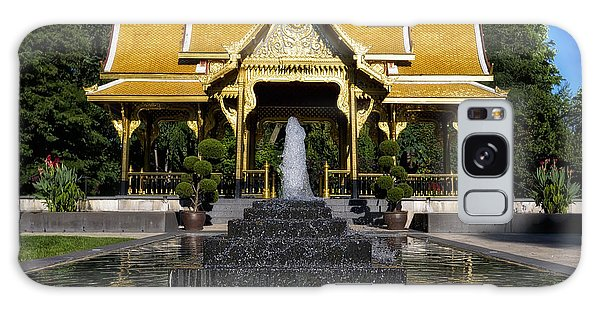 Thai Pavilion - Madison - Wisconsin Galaxy Case by Steven Ralser