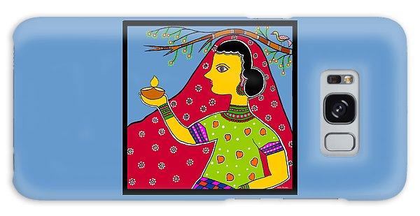Thamasoma Jyothirgamaya Galaxy Case by Latha Gokuldas Panicker