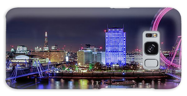 Thames Panorama Galaxy Case