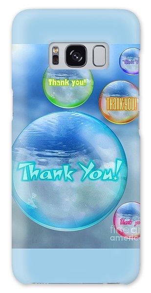 Thank You Bubbles Galaxy Case
