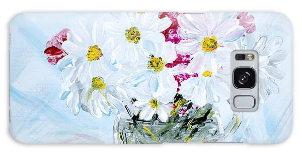 Thank You. Thank You - Je Vous Remerci Collection Of 2 Paintings Galaxy Case