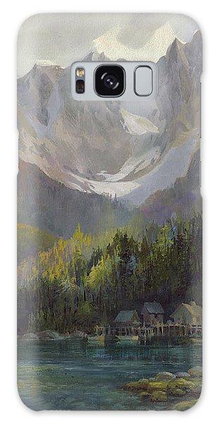 Mountain Lake Galaxy Case - That Glorious Light by Michael Humphries