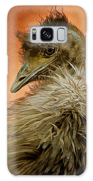 That Shy Come-hither Stare Galaxy Case by Lois Bryan